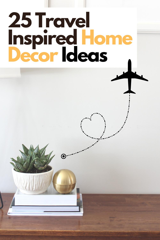 25 Travel Inspired Home Decor Ideas